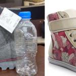 Estudiante crea calzado con botellas de plástico (PET)