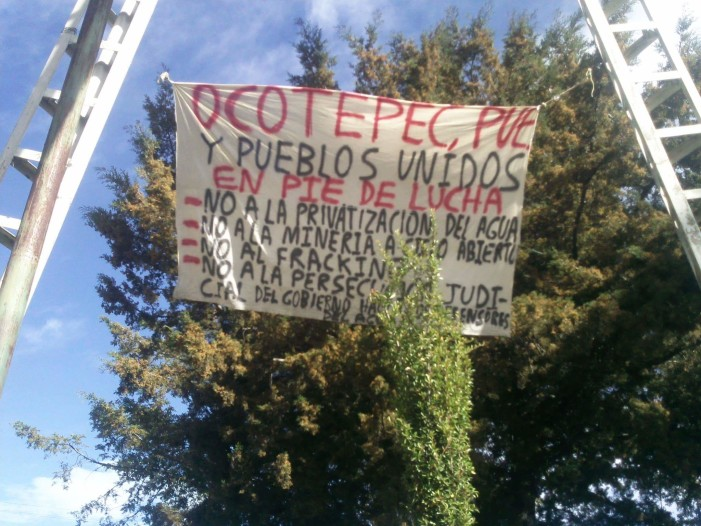 Ocotepec, Libres, Oriental e Ixtacamaxtitlán se unen contra mineras y megaproyectos