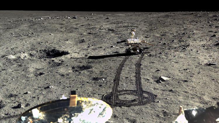 China muestra las primeras imágenes de su expedición a la Luna 3