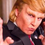 Johnny Depp parodia a Donald Trump