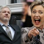 Emociona a Hillary Clinton matar a la gente: Julian Assange