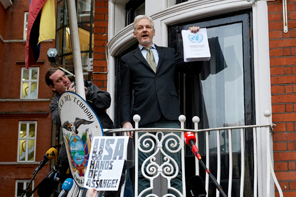Ignoran Bretaña y Suecia a ONU y niegan libertad a Julian Assange embajada ecuador
