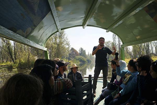 Organizan visitas a chinampas para acreditar que son orgánicos 1