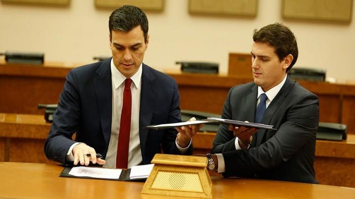 PSOE pacta con Derecha Española nuevo gobierno y reformas