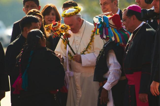Papa en México: Atole con el dedo
