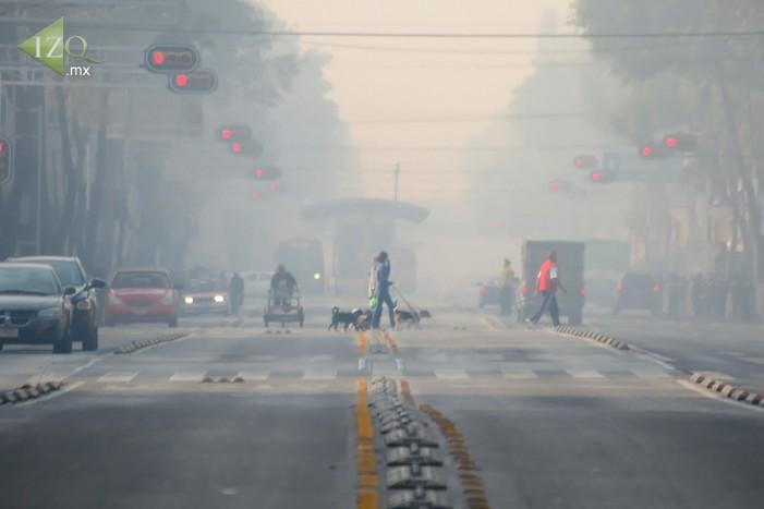 Declaran contingencia ambiental en Valle de México por ozono