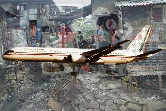 Peña Nieto por fin estrena el avión más lujoso y caro del mundo