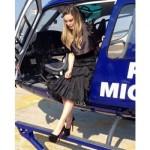 Belinda habría usado Helicóptero del Gobierno de Michoacán