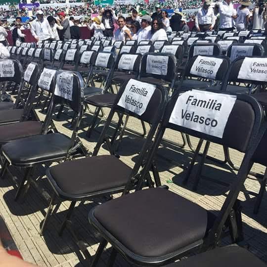 Manuel Velasco privilegia a su familia en la visita del papa a Chiapas
