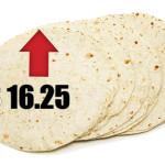 Empieza a subir el precio de la tortilla
