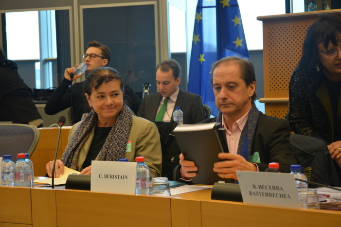 Caso Ayotzinapa llega a Parlamento Europeo