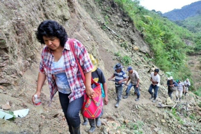 Berta Cáceres Caminata