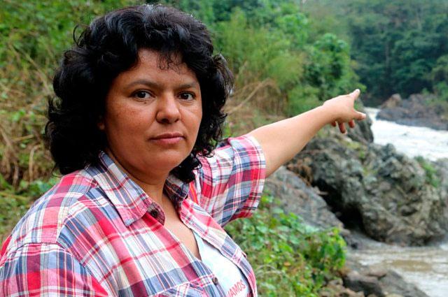 Informe vincula a agentes estatales con asesinato de Berta Cáceres