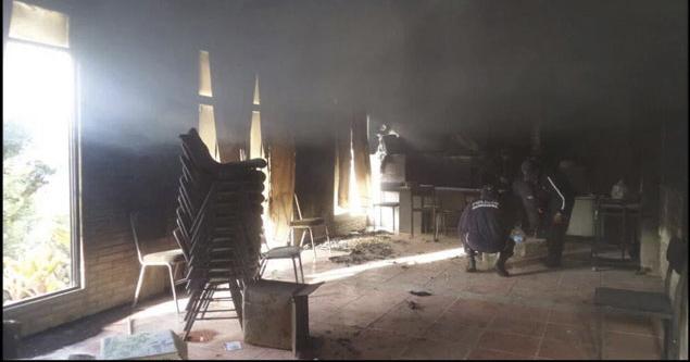 Incendio en oficinas de Morena en Oaxaca pudo ser premeditado