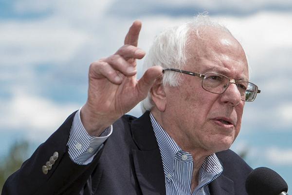 Los apoyos de Bernie Sanders en la enseñanza