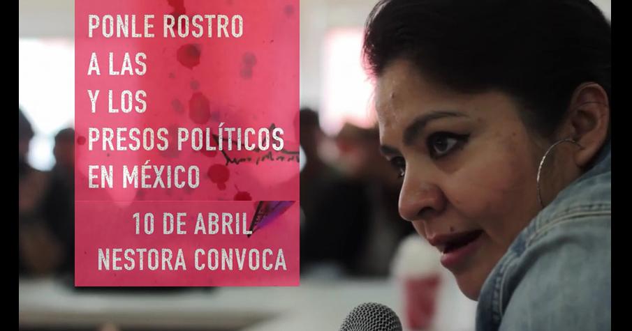 Nestora Salgado Ponle rostro y nombre a las y los presos políticos en México info