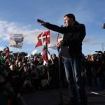 """Liberan a Otegui, líder vasco: """"La paz es el camino a la independencia"""""""
