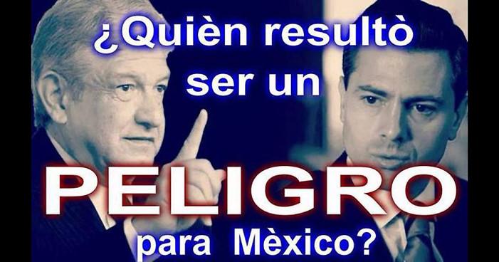 ¿Quién es un peligro para México?
