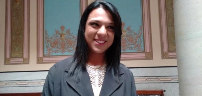 Rubí, primera regidora transgénero en Guanajuato