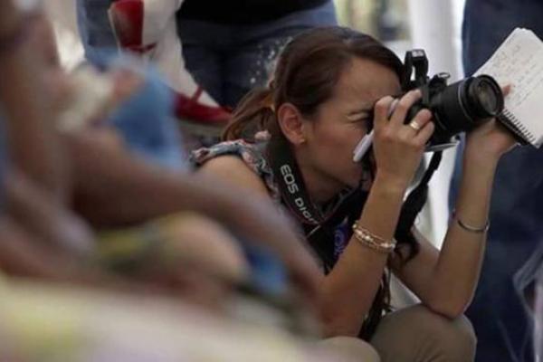Violencia contra mujeres periodistas en México foto
