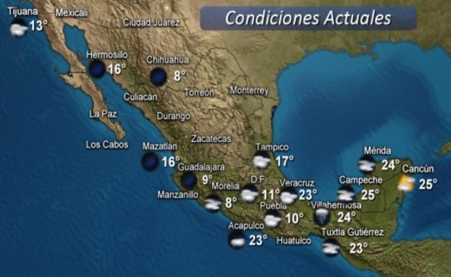 Tormentas intensas en Veracruz, Tabasco y Chiapas por frente frío 6