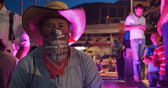 """""""Defenderemos nuestro derecho a la protesta"""": Fuego de la Digna Resistencia"""