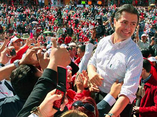 Cártel de Juárez pagó la campaña de Peña Nieto
