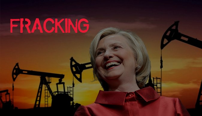 Hillary Clinton financiada por petroleras que realizan Fracking