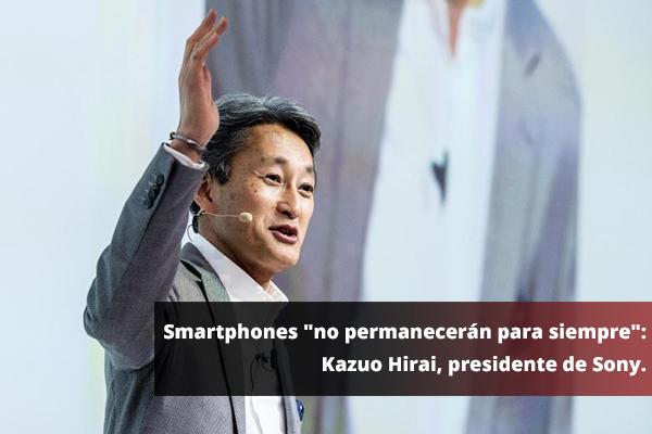 smartphones sony Teléfonos inteligentes, a punto de desaparecer