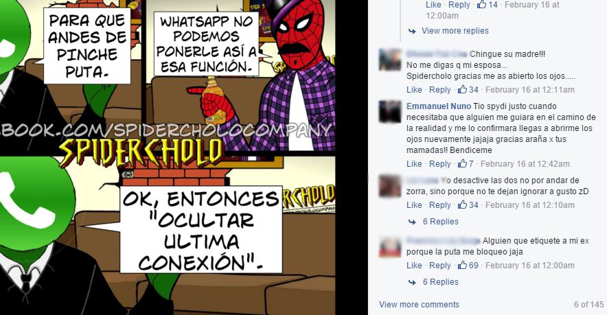 spider cholo facebook