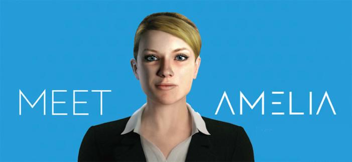 Amelia, el robot que dejaría sin trabajo a 250 millones de personas