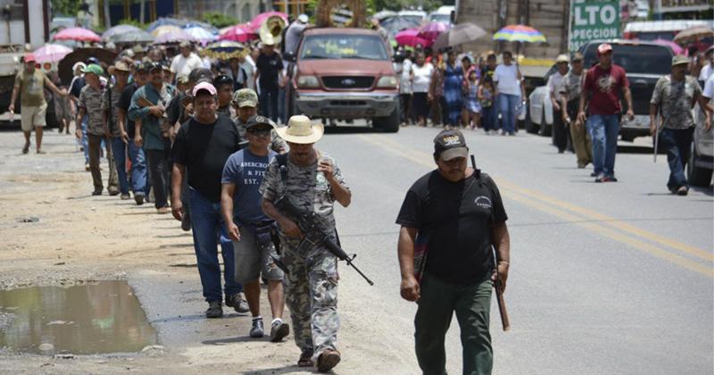 Autodefensas se organizan en Guerrero, van contra la Policía Federal