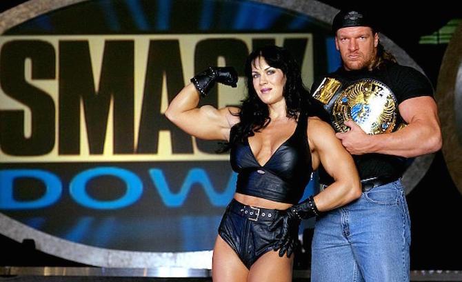 Chyna-and-Triple-H-WWE