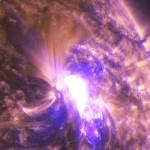 Erupción solar en mancha del tamaño de 5 Tierras