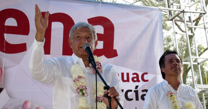 Votar por PRI o PAN es masoquismo, la única opción es Morena: AMLO