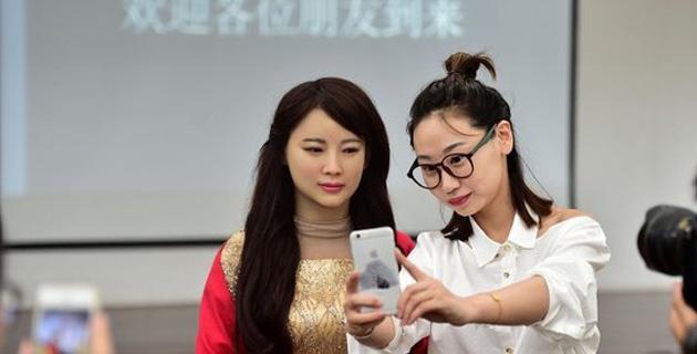 Jia Jia, el primer androide interactivo de China