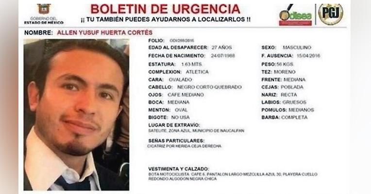 Joven desaparecido en Naucalpan tras discutir con policías
