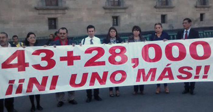 Morena exige a Peña Nieto plan nacional de búsqueda de desaparecidos