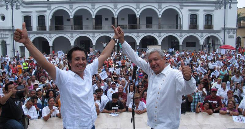 Morena podría ganar Veracruz; Yunes Linares cae, PRI se estanca y Cuitláhuac García sube