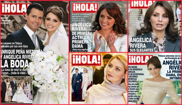 Angélica Rivera, favorita de revista Hola, de nuevo