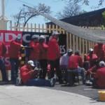 Trabajadores de Nissan inician huelga en Cuernavaca