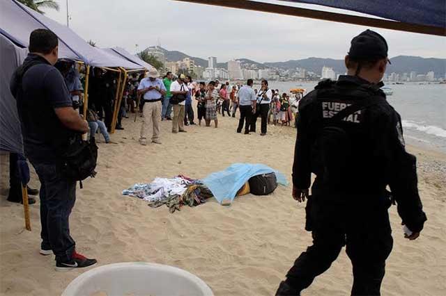 Tres cárteles se disputan Acapulco