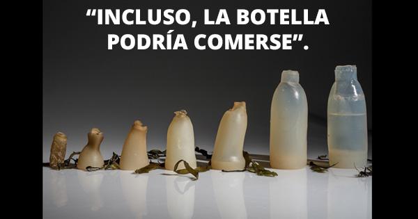 Crean botella de agua que se desintegra después de usarse