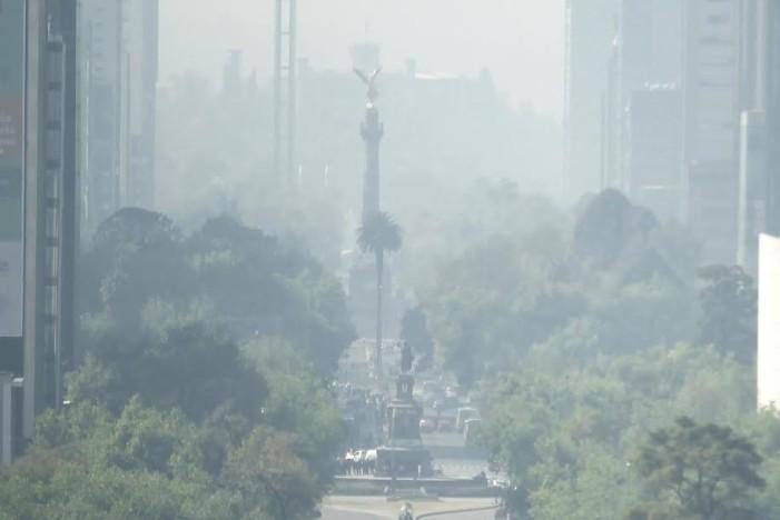 Contaminación en Ciudad de México empeora, doble Hoy No Circula