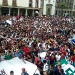 Estudiantes del Politécnico protestan contra Aurelio Nuño (Fotos y Video)
