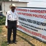 El nieto de Zapata por la defensa del agua