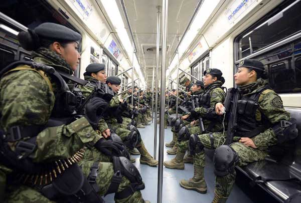 Soldados piden volver a cuarteles: 'estamos hartos de luchar contra sicarios'