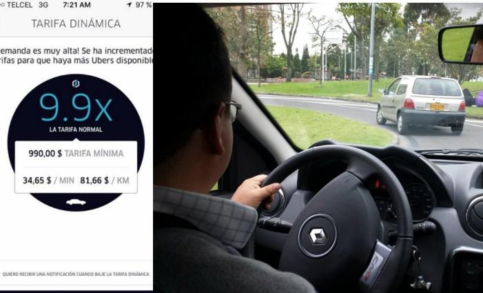 Uber hace su agosto en abril sube precio por Hoy No Circula