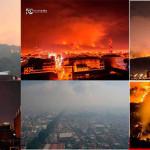 Incendios forestales terminan con 100 hectáreas de bosque en Uruapan