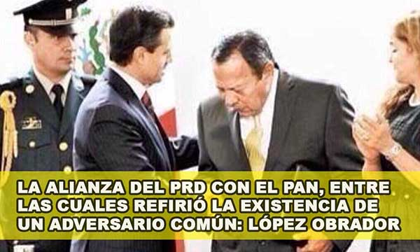 Pacto por México fue idea del PRD y López Obrador es el enemigo común: Zambrano